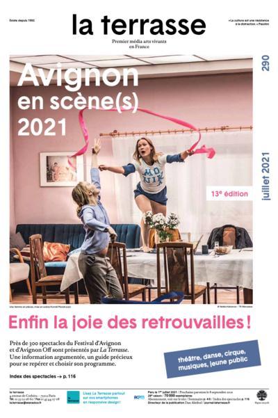 Couverture de Avignon en scène(s) 2021