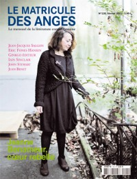 Jeanne Benameur : coeur rebelle, 120 -  2011 «Le Matricule des Anges»  