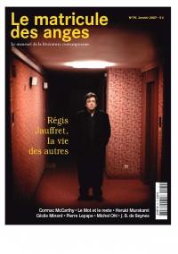 Régis Jauffret, la vie des autres