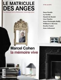 Marcel Cohen, la mémoire vive