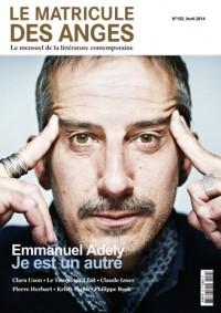 Emmanuel Adely: Je est un autre