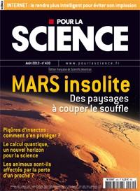 Mars insolite