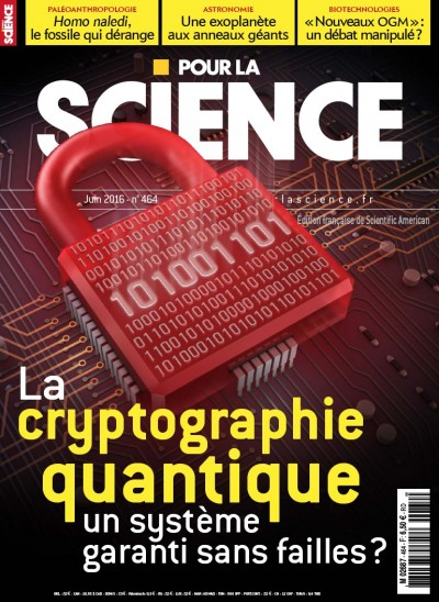 Jaquette La cryptographie quantique