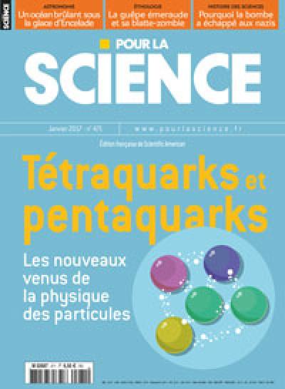 Tétraquarks et pentaquarks