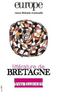 Couverture de Littérature de Bretagne