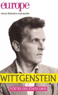 Couverture de Wittgenstein et les poètes des Etats-Unis