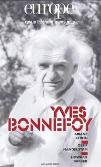 Couverture de Yves Bonnefoy