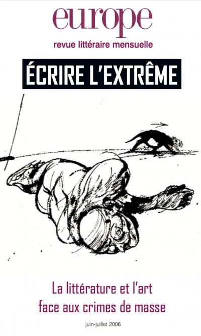 Couverture de Ecrire l'extrême