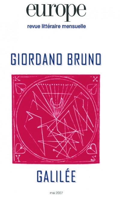 Couverture de Giordano Bruno