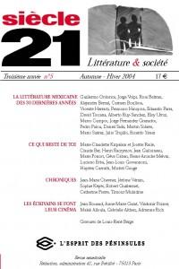 La littérature mexicaine des 30 dernières années   Guillermo Ordorica