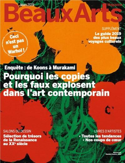 Couverture de Les copies et les faux dans l'art contemporain