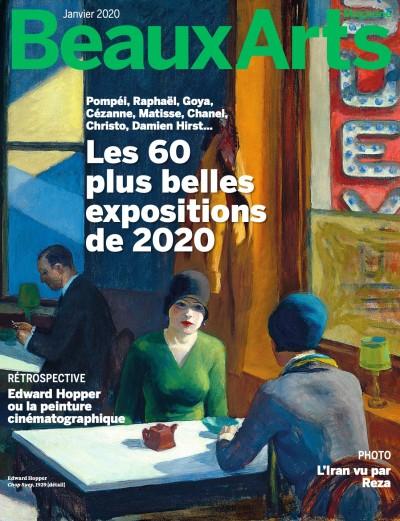 Couverture de Les 60 plus belles expositions de 2020