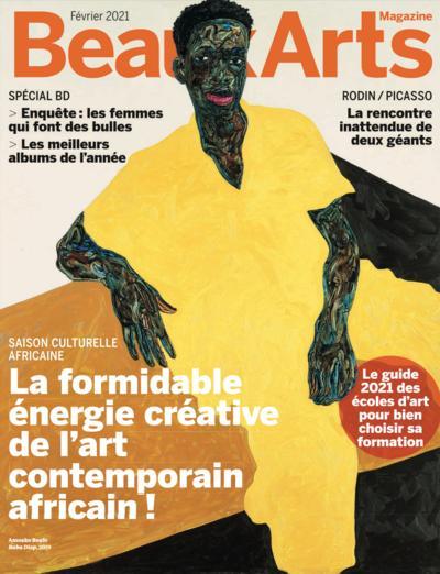 Couverture de L'art contemporain africain