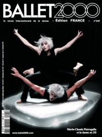 Jaquette Marie-Claude Pietragalla et la danse en 3D