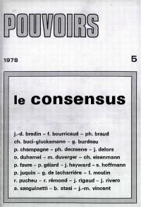 Le consensus