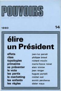 Elire un président