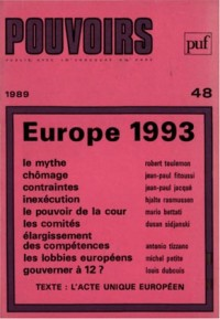 Jaquette Europe 1993
