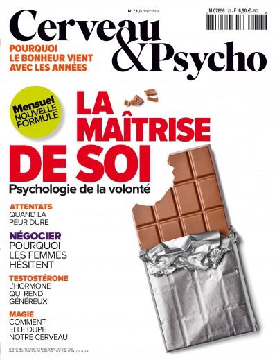 La maîtrise de soi, 73 -  2016 «Cerveau & Psycho» |