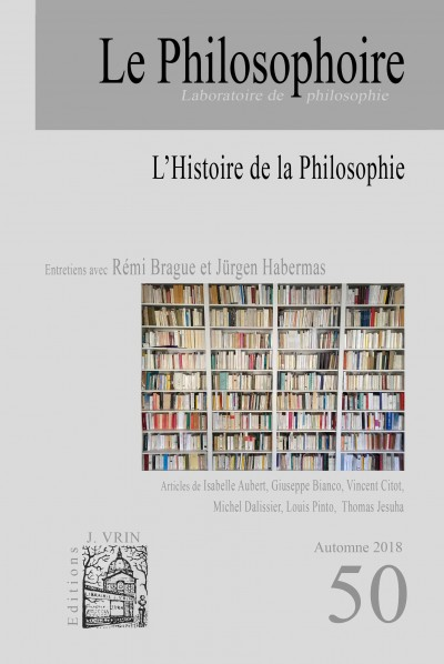 L'Histoire de la Philosophie