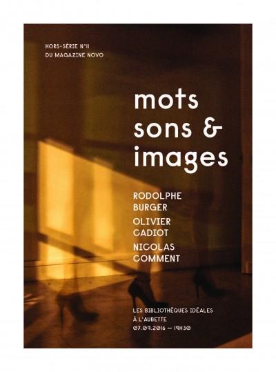 Mots, sons et images