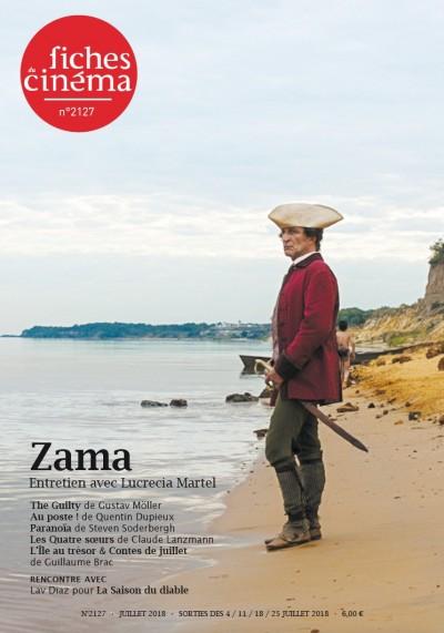 Couverture de Zama