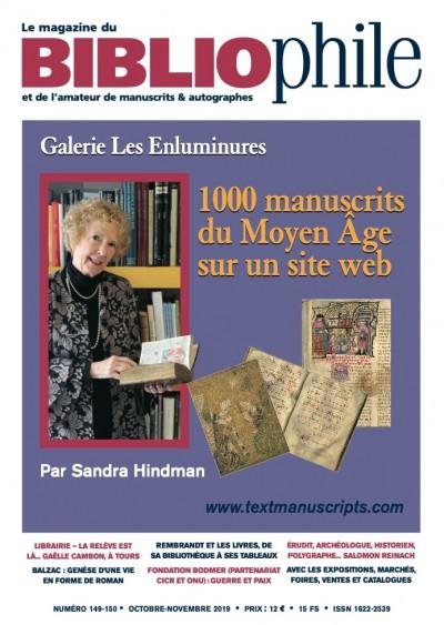1000 manuscrits du Moyen Âge sur un site web
