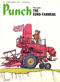 The Euro-farmer, 6898 - novembre 1972 «Punch» |