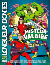Jaquette Mister Valaire