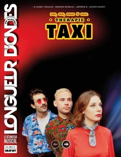 Couverture de Therapie Taxi