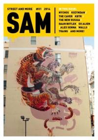 Huge tiger in San Francisco
