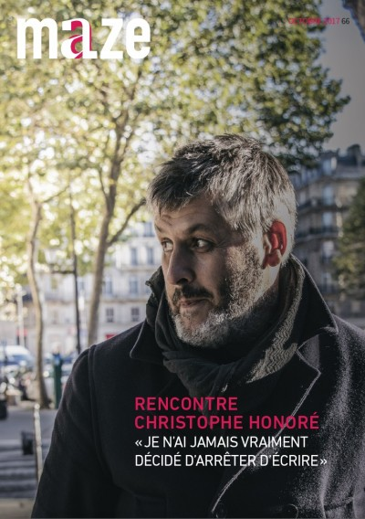 Couverture de Christophe Honoré