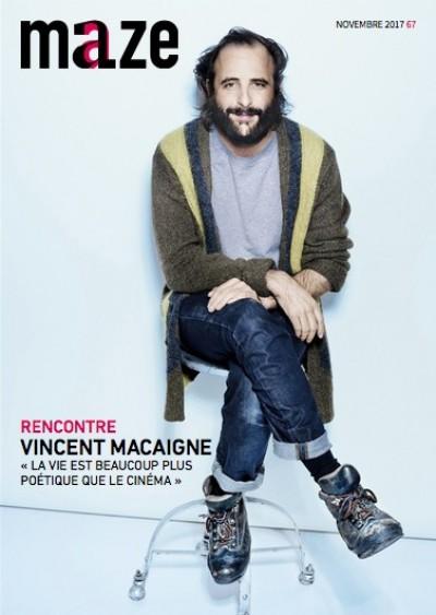 Couverture de Vincent Macaigne