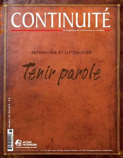 Un temple pour la littérature | Chantale Émond