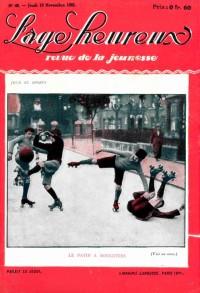 Couverture de Le patin à roulettes