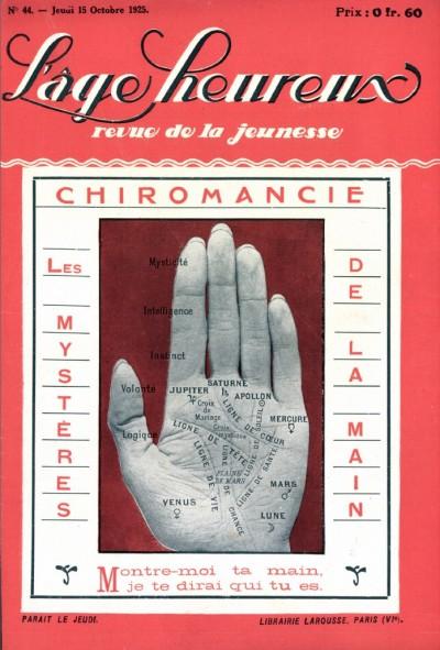 Couverture de Chiromancie