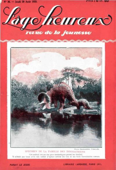 Jaquette Spécimen de la famille des dinosauriens