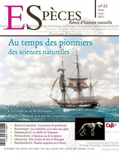 Au temps des pionniers des sciences naturelles