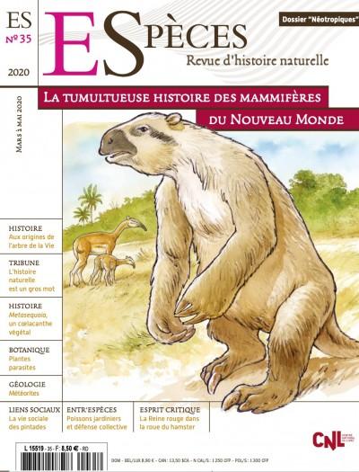 Les mammifères du nouveau monde