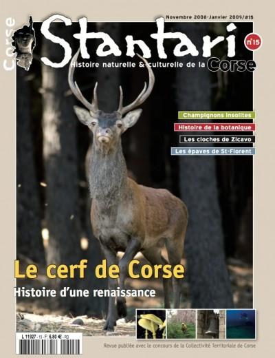 Le cerf de Corse