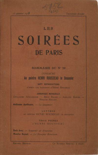 Jaquette Le Douanier Rousseau