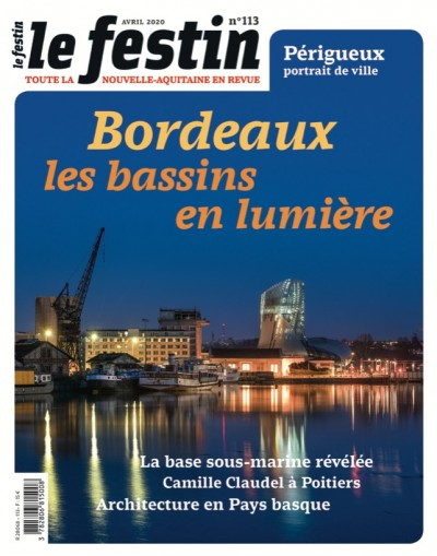 Bordeaux, les bassins en lumière