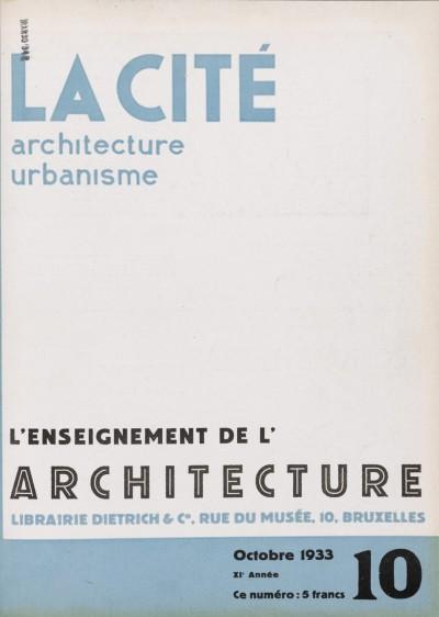L'enseignement de l'architecture