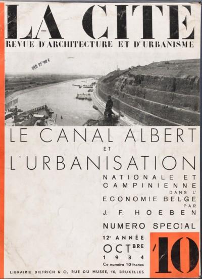 Le canal Albert et l'urbanisation