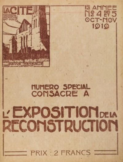 Jaquette L'exposition de la reconstruction