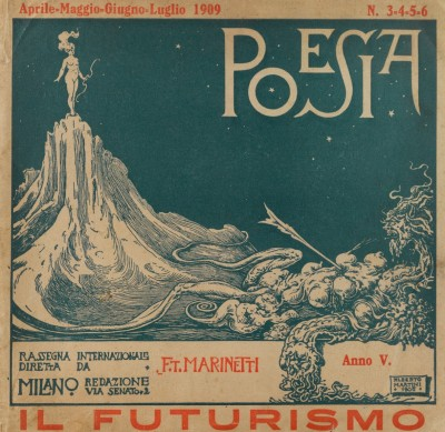 Couverture de Il futurismo