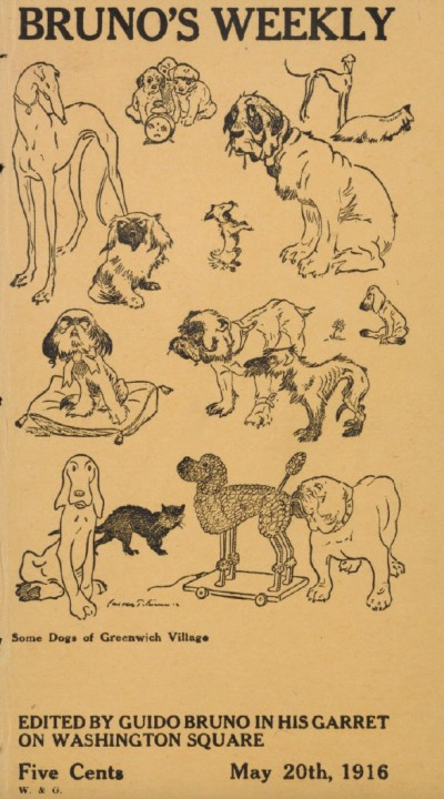 Some dogs of Greenwich Village