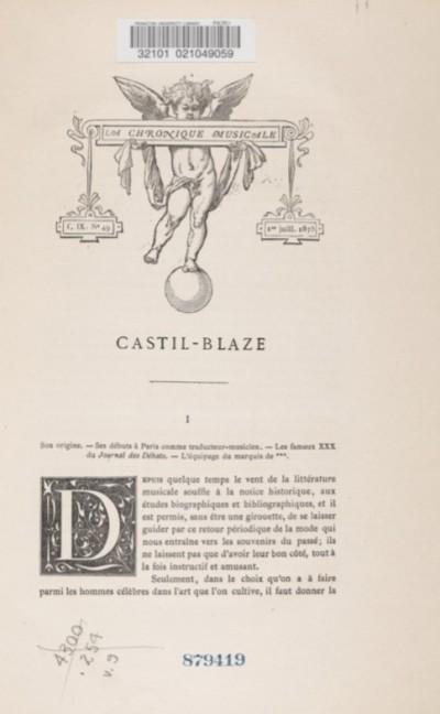 Castil-Blaze