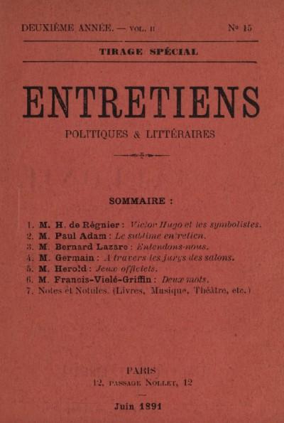 Victor Hugo et les symbolistes