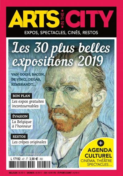 Jaquette Les 30 plus belles expositions 2019