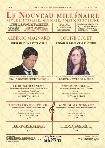 Albéric Magnard, Louise Colet